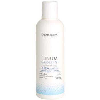 Dermedic Linum Emolient Körpermilch für trockene bis atopische Haut