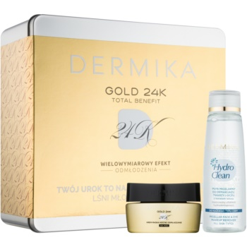 Dermika Gold 24k Total Benefit set cosmetice II.