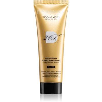 Dermika Gold 24k Total Benefit mască intensă de întinerire