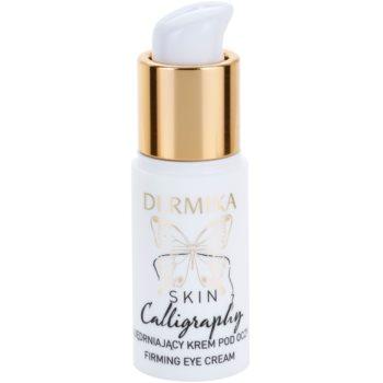Dermika Skin Calligraphy crema de ochi pentru fermitate 1
