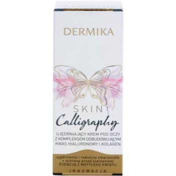 Dermika Skin Calligraphy crema de ochi pentru fermitate 3