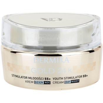 Dermika Gold 24k Total Benefit crema lux de intinerire 55+