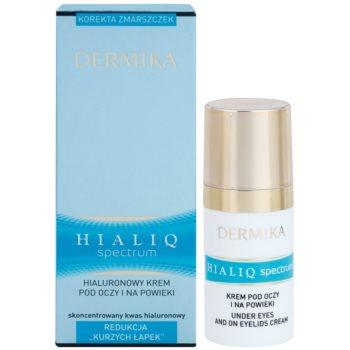 Dermika Hialiq Spectrum Augencreme gegen Falten mit Hyaluronsäure 2
