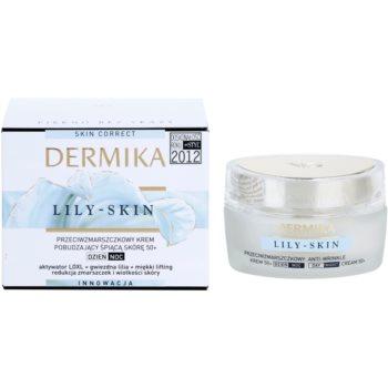 Dermika Lily Skin stimulierende Anti-Falten Creme für müde Haut 2