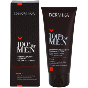 Dermika 100% for Men balsam calmant dupa barbierit 1