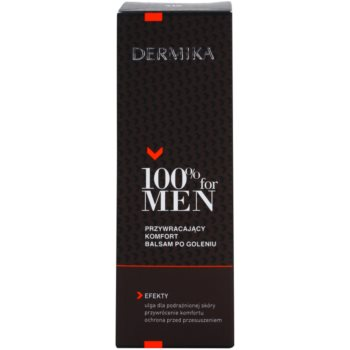 Dermika 100% for Men balsam calmant dupa barbierit 2