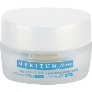 Dermika Meritum Forte creme nutritivo para pele seca a sensível