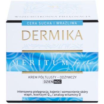Dermika Meritum Forte creme nutritivo para pele seca a sensível 3