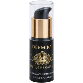 Dermika Mesotherapist oční liftingový krém pro zralou pleť (With New Generation Hyaluronic Acid and Black Orchid) 15 ml