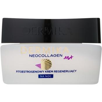 Dermika Neocollagen M+ Crema de noapte regeneratoare cu fitoestrogeni