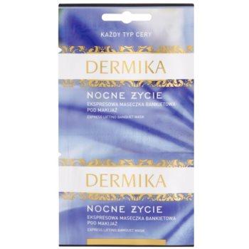 Dermika Night Life Express Lifting Maske für Gesicht und Hals