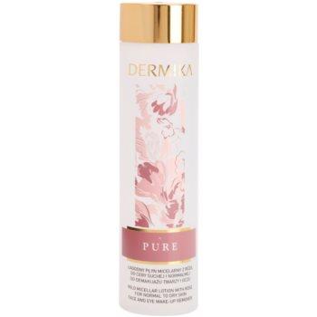 Dermika Pure мицеларна вода за нормална към суха кожа