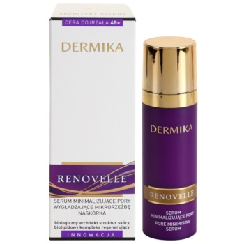 Dermika Renovelle 45+ ser pentru ten  pentru netezirea pielii si inchiderea porilor 2