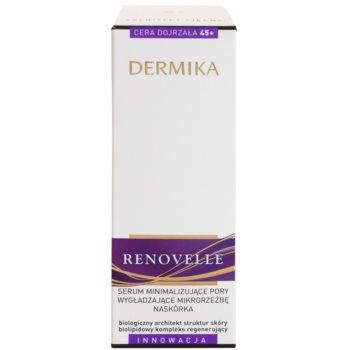 Dermika Renovelle 45+ ser pentru ten  pentru netezirea pielii si inchiderea porilor 3