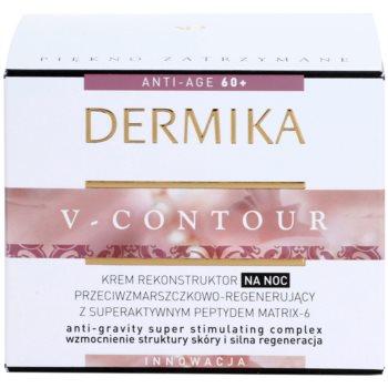 Dermika V-Contour crema de noapte regeneratoare cu efect antirid 3