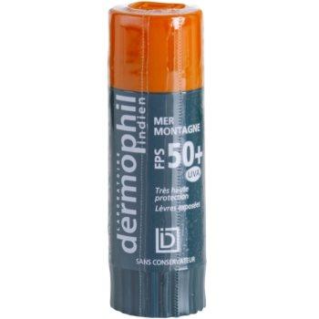 Dermophil Sun zaščitni balzam za ustnice SPF 50+