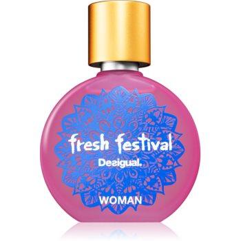 Desigual Fresh Festival Eau de Toilette pentru femei