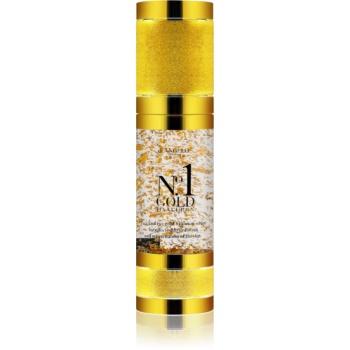 Fotografie Di Angelo Cosmetics No1 Gold hyaluronové sérum pro okamžité rozjasnění a omlazení pleti 30 ml