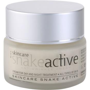Diet Esthetic SnakeActive przeciwzmarszczkowy krem na dzień i na noc zjadem węża