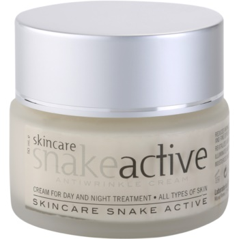 Diet Esthetic SnakeActive crema anti-rid de zi si de noapte cu venin de sarpe  50 ml