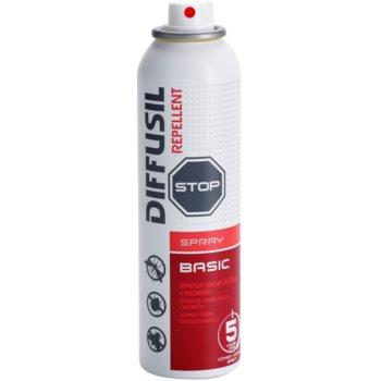 Diffusil Repellent Basic spray respingator pentru tantari, capuse si muste 1