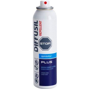Diffusil Repellent Plus спрей проти комарів та кліщів з посиленим ефектом 1
