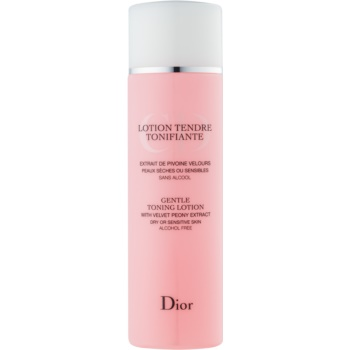 Fotografie Dior Cleansers & Toners tonikum pro citlivou a suchou pleť 200 ml