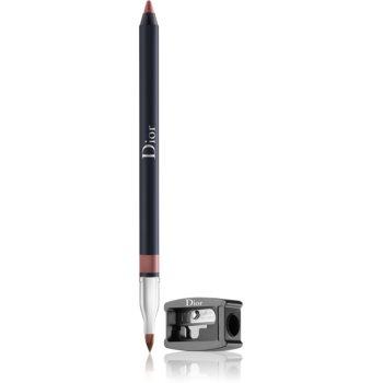 Dior Dior Contour tužka na rty s ořezávátkem odstín 593 Brown Fig 1,2 g