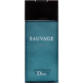 Dior Sauvage gel de dus pentru barbati