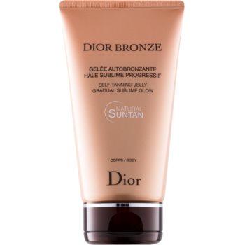 Dior Dior Bronze gel autobronzant pentru corp