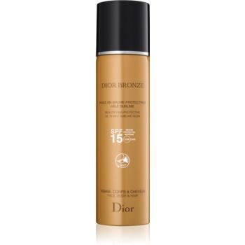 Dior Dior Bronze ulei cu protectie solara pentru piele si par Spray