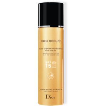 Dior Dior Bronze Oil in Mist ulei cu protectie solara pentru piele si par Spray imagine produs