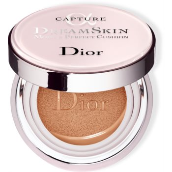 Dior Capture Dreamskin Moist & Perfect Cushion fond de ten hidratant, în burete SPF 50 poza