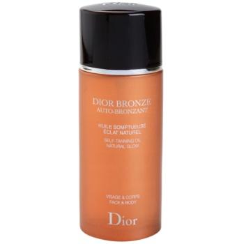 Dior Dior Bronze Auto-Bronzant ulei bronzant pentru fata si corp