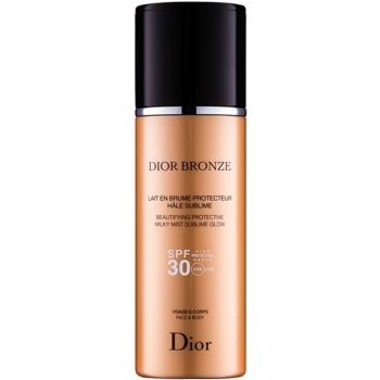 Dior Dior Bronze ulei cu protecție solară pentru strălucire SPF 30