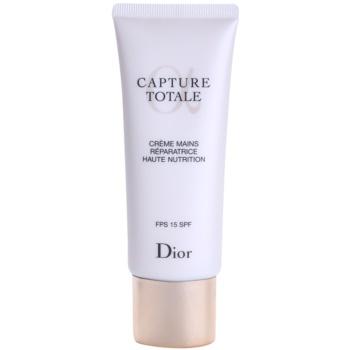 Dior Capture Totale crema hranitoare pentru maini SPF 15