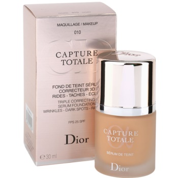 Dior Capture Totale make-up проти зморшок 3