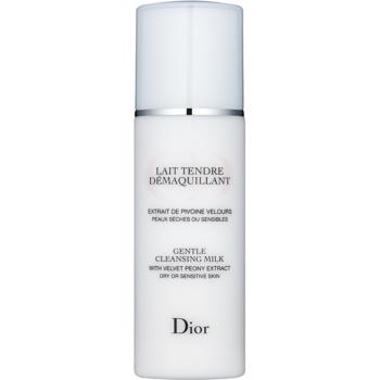 Fotografie Dior Cleansers & Toners čisticí mléko pro citlivou a suchou pleť 200 ml