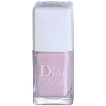 Dior Diorlisse Abricot posilující lak na nehty odstín 800 Snow Pink 10 ml