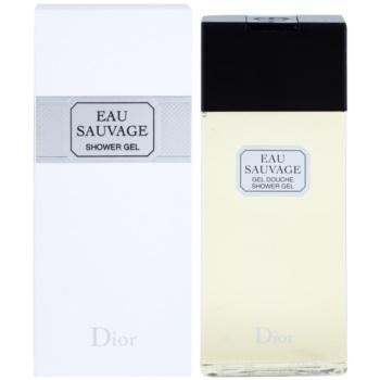 Dior Eau Sauvage гель для душу для чоловіків