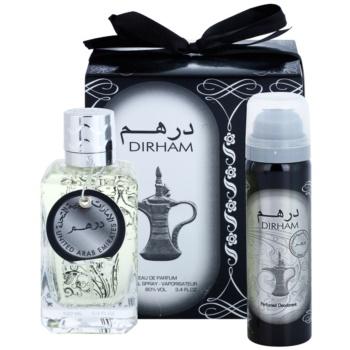 Dirham Dirham dárková sada I. parfémovaná voda 100 ml + deodorant ve spreji 50 ml