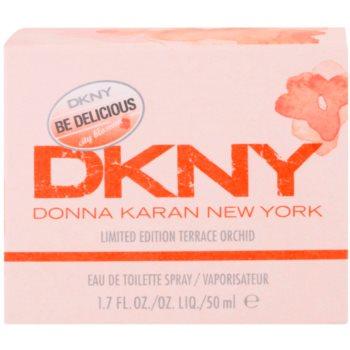 DKNY Be Delicious City Blossom Terrace Orchid Eau de Toilette für Damen 3