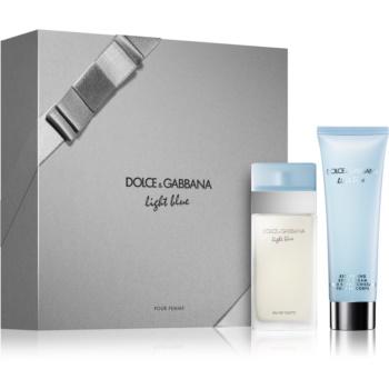Dolce & Gabbana Light Blue dárková sada XI. toaletní voda 25 ml + tělový krém 50 ml