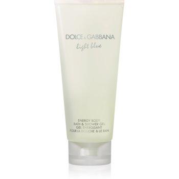 Dolce & Gabbana Light Blue sprchový gel pro ženy 200 ml