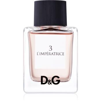 Dolce & Gabbana D&G Anthology L'Imperatrice 3 eau de toilette pentru femei 50 ml