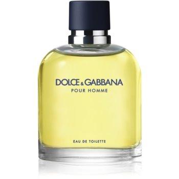 Dolce & Gabbana Pour Homme Eau de Toilette pentru bărbați poza noua