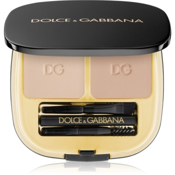 Dolce & Gabbana Emotioneyes Brow Powder Duo set pentru sprancene perfecte culoare 1 Natural Blond 2 x 2,7 g