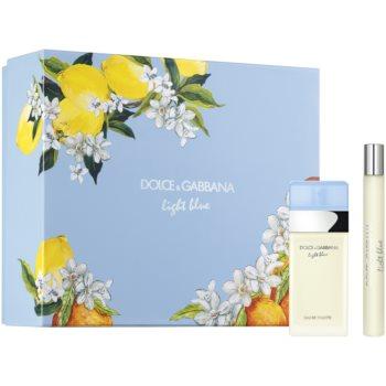 Dolce & Gabbana Light Blue toaletní voda 25 ml + toaletní voda 10 ml
