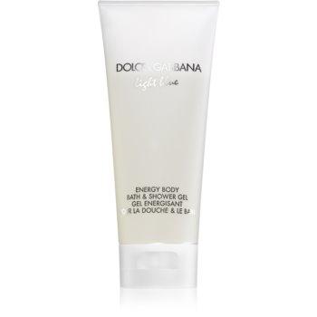 Fotografie Dolce & Gabbana Light Blue sprchový gel pro ženy 200 ml