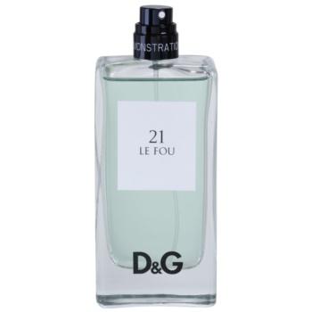 Dolce & Gabbana D&G Anthology Le Fou 21 тоалетна вода тестер за мъже